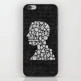 Untitled Silhouette in Reverse. iPhone Skin