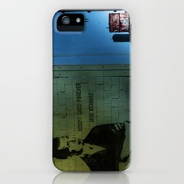 Jack Kerouac Quote On The Wall iPhone Case