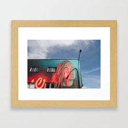 MONTREAL 5 Framed Art Print