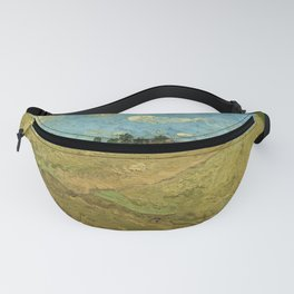 Ploughed fields ('The furrows') by Vincent van Gogh (1888) Fanny Pack