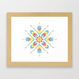 Asterisk Framed Art Print