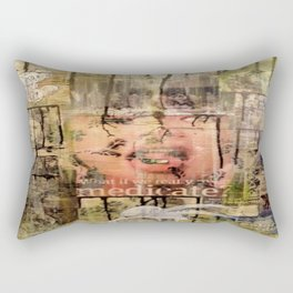 Subliminal Illness Rectangular Pillow