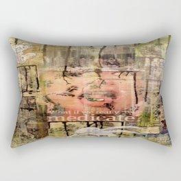 Subliminal Illness Rectangular Pillow