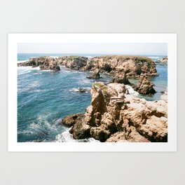 Ocean Obstacles Art Print