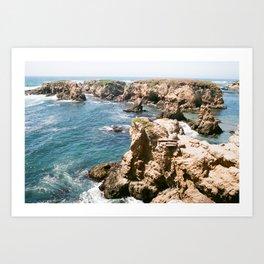 Ocean Obstacles Art Print
