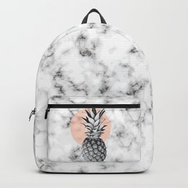 Marble Pineapple 053 Backpack