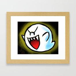 Laughing Framed Art Print