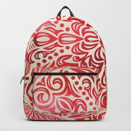 mandala7 Watercolor Mandala Backpack
