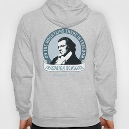 Romantic Poet Mountain Freedom Hoody