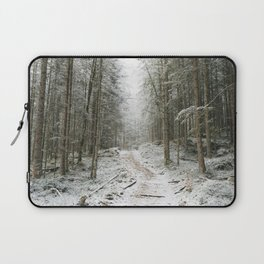 For now I am Winter - Landscape photography Laptop Sleeve