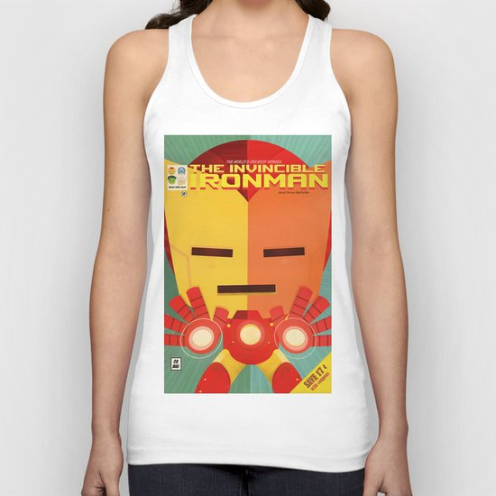 ironman fan art Unisex Tank Top