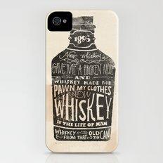 Whiskey iPhone (4, 4s) Slim Case