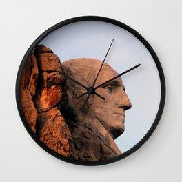 George Washington (Mount Rushmore) Wall Clock