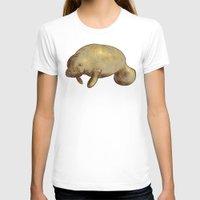 manatee T-shirts featuring Manatee by Kenton Visser