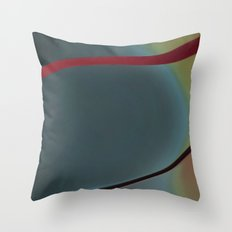Shapes of  a woman Throw Pillow