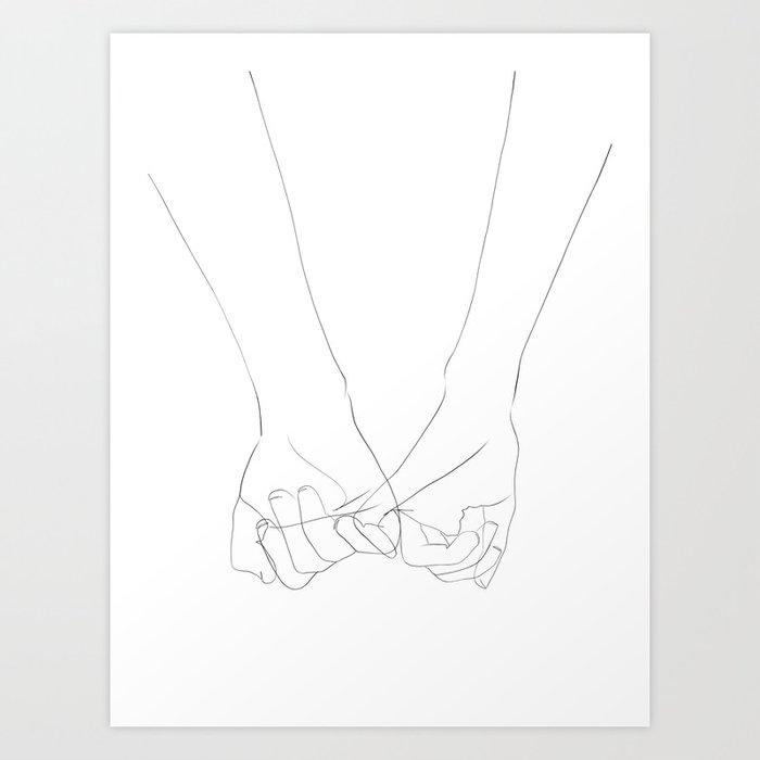 promesse Art Print