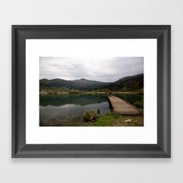 Nice spot for fishing Framed Art Print