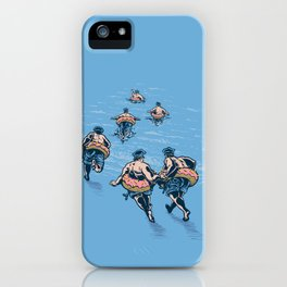 Cops Day Off iPhone Case