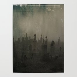 Dark And Dank Fog Poster