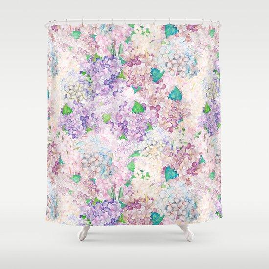 Pastel Purple And Blue Lilac Amp Hydrangea