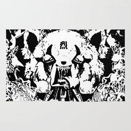 Red Panda Death Metal cutie Aggretsuko Rug