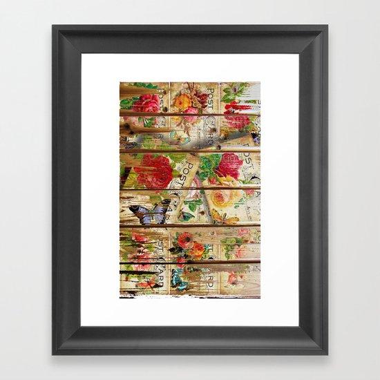 Holiday Romance Framed Art Print