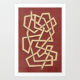 Maze 83 Art Print