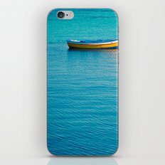 Lonely boat  iPhone & iPod Skin