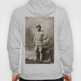 Col. Theodore Roosevelt, in Rough Rider Uniform Hoody