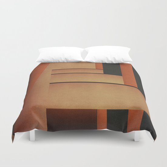 Abstract #111 Duvet Cover