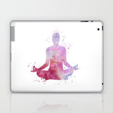 Yoga - Lotus pose  Laptop & iPad Skin