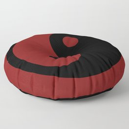 oriental ying yang Floor Pillow