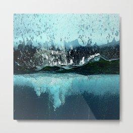 Water Explosions Metal Print