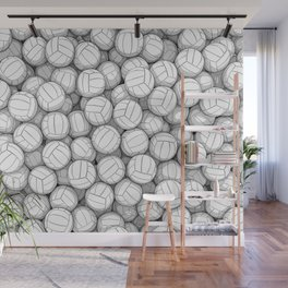 All I Want To Do Is Volleyball Wall Mural