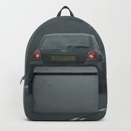 Misty Morning Drive Backpack