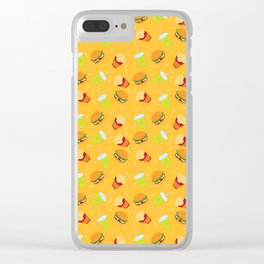Fast Food Clear iPhone Case