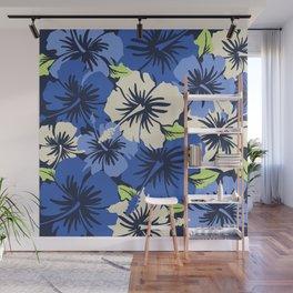 Epic Hibiscus Hawaiian Floral Aloha Shirt Print Wall Mural