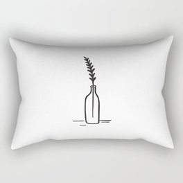 Leaves in a Bottle Rectangular Pillow