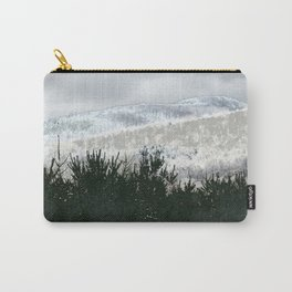 Nordic Landscape Sky Forest Mountain Carry-All Pouch