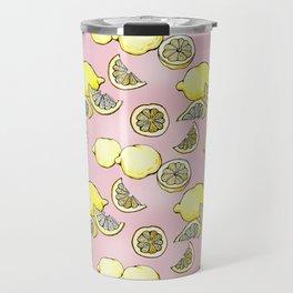 Pink Lemonade Travel Mug