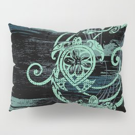 Abstract Tribal Turtles Pillow Sham