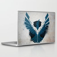 infamous Laptop & iPad Skins featuring inFamous Second Son Good Karma 1 by Kyrsten Carlson