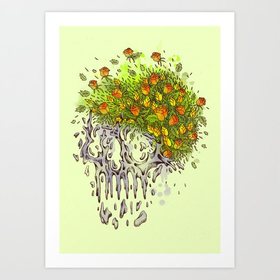 Endless blossom Art Print