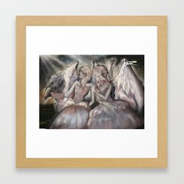 Angels (1) Framed Art Print