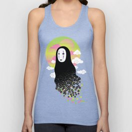 No Face and Soot Sprites Unisex Tank Top