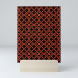 Refined Wood Abstract Background Mini Art Print