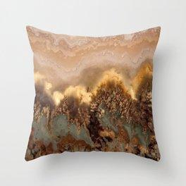 Idaho Gem Stone 19 Throw Pillow