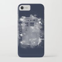 tardis iPhone & iPod Cases featuring Tardis by Zach Terrell