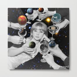 give you the universe Metal Print