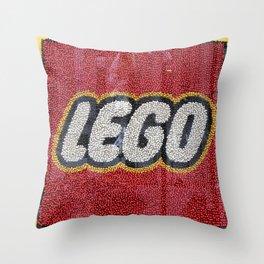 L-E-G-O Throw Pillow
